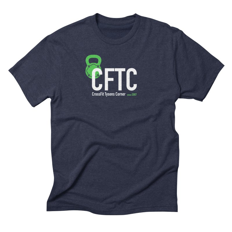 CFTC Basic in Men's Triblend T-Shirt Navy by CrossFit Tysons Corner Apparel