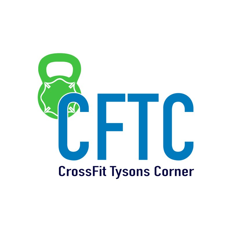 CFTC Sticker by CrossFit Tysons Corner Apparel