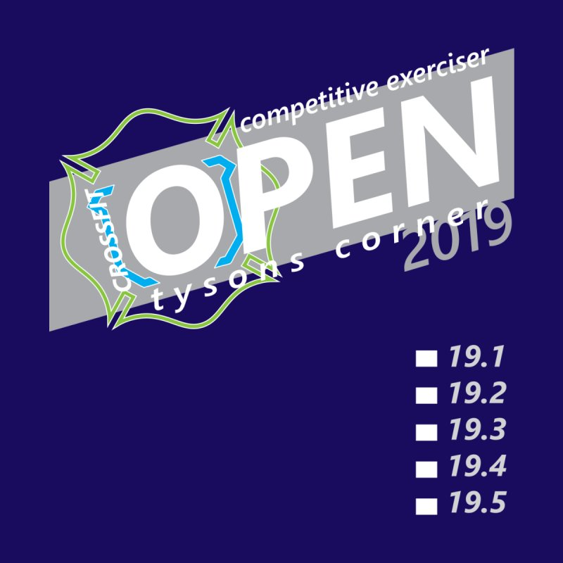 CrossFit Open 2019 - light by CrossFit Tysons Corner Apparel