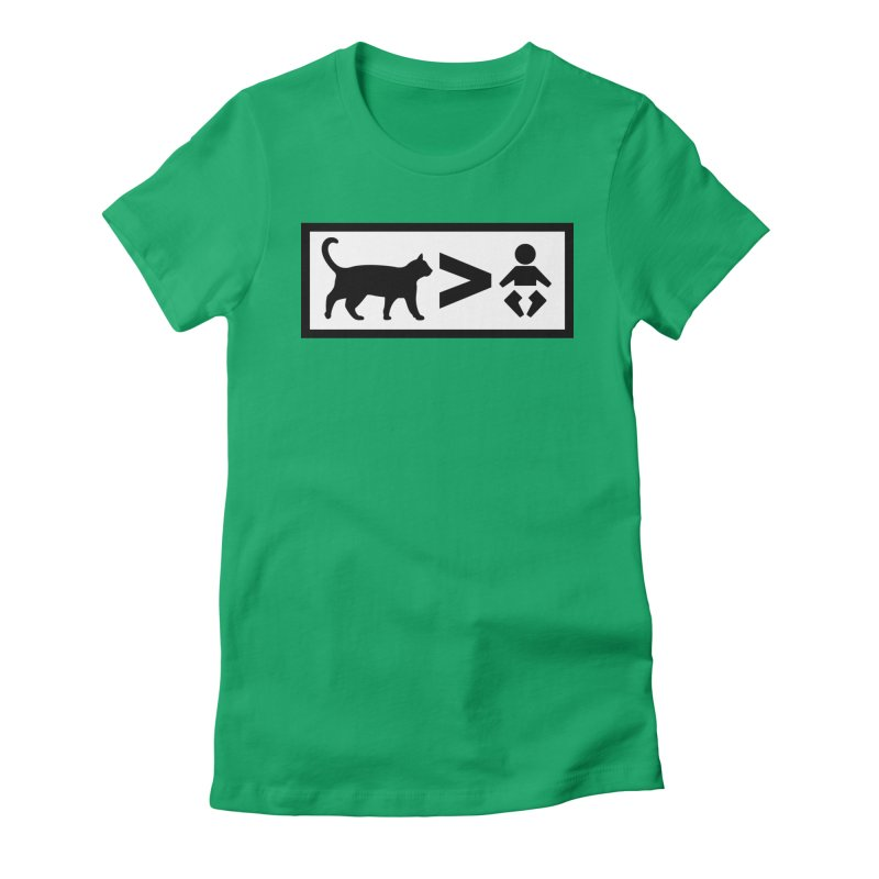 Cats Greater Than Women's T-Shirt by CrowActive