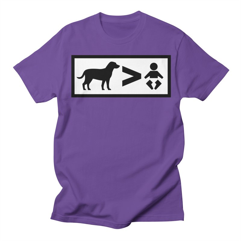 Dogs Greater Than Women's T-Shirt by CrowActive