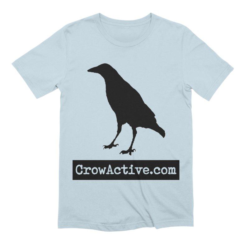 CrowActive Men's Extra Soft T-Shirt by CrowActive