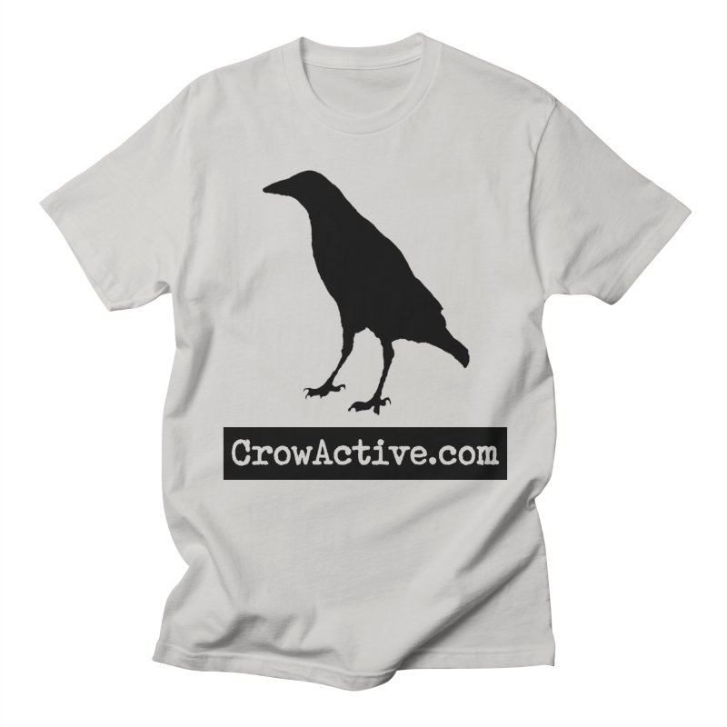 CrowActive in Men's Regular T-Shirt Stone by CrowActive