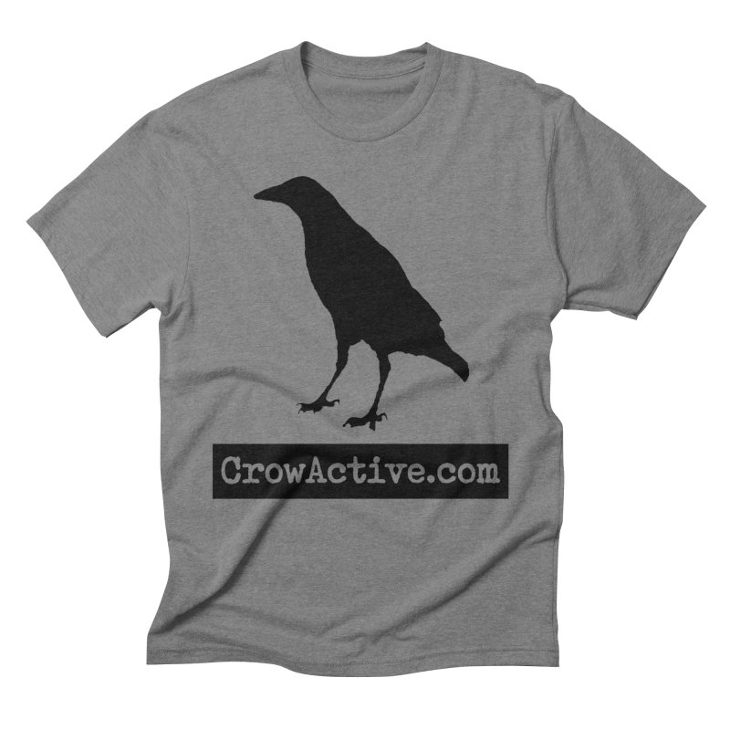 CrowActive Men's Triblend T-Shirt by CrowActive