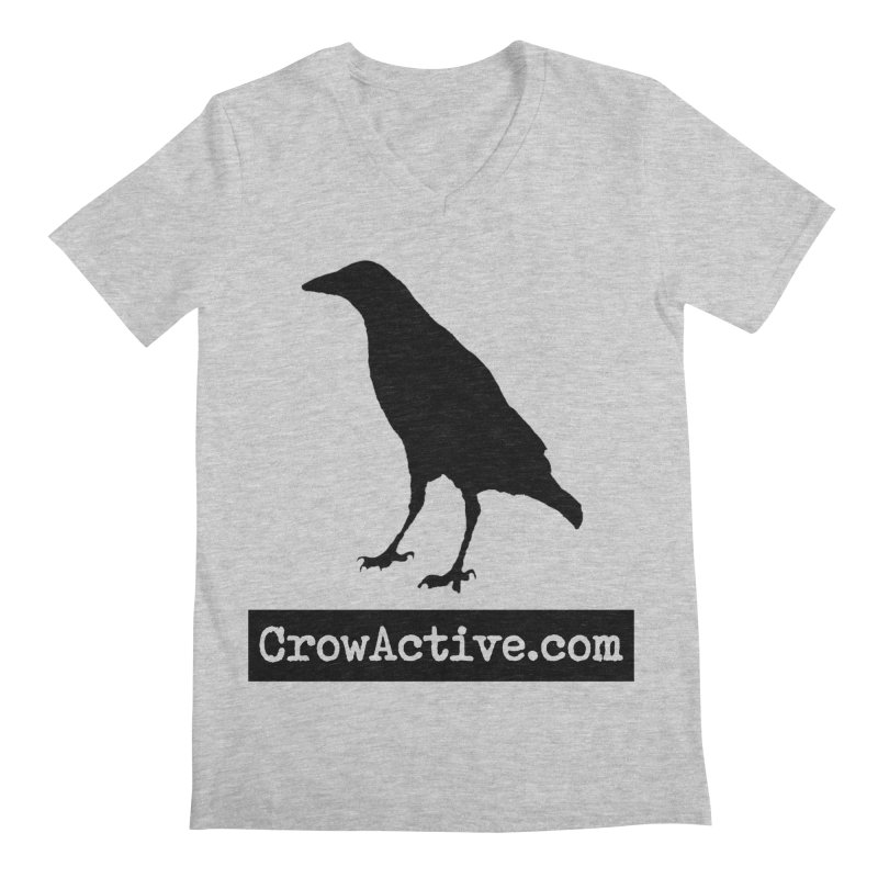 CrowActive Men's Regular V-Neck by CrowActive