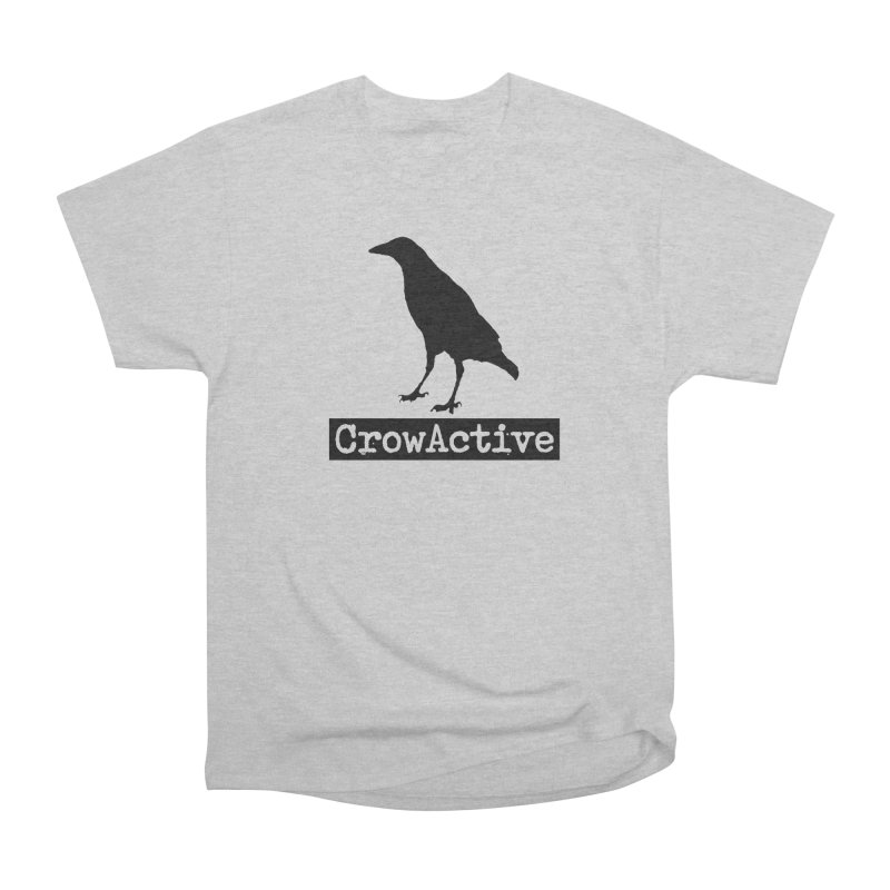 CrowActive Men's Heavyweight T-Shirt by CrowActive