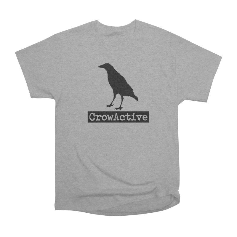CrowActive Women's Heavyweight Unisex T-Shirt by CrowActive