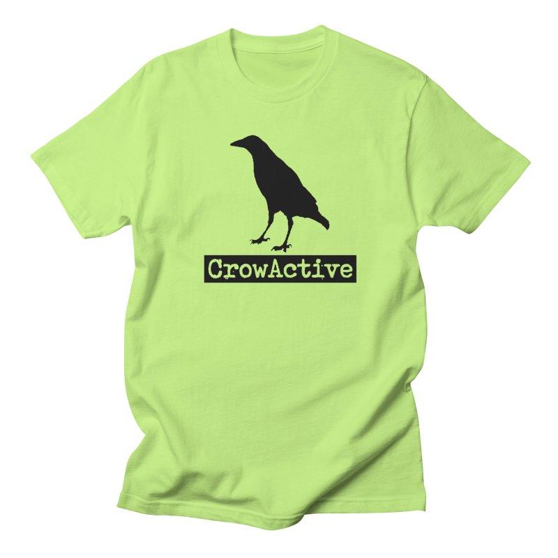 CrowActive Women's Regular Unisex T-Shirt by CrowActive