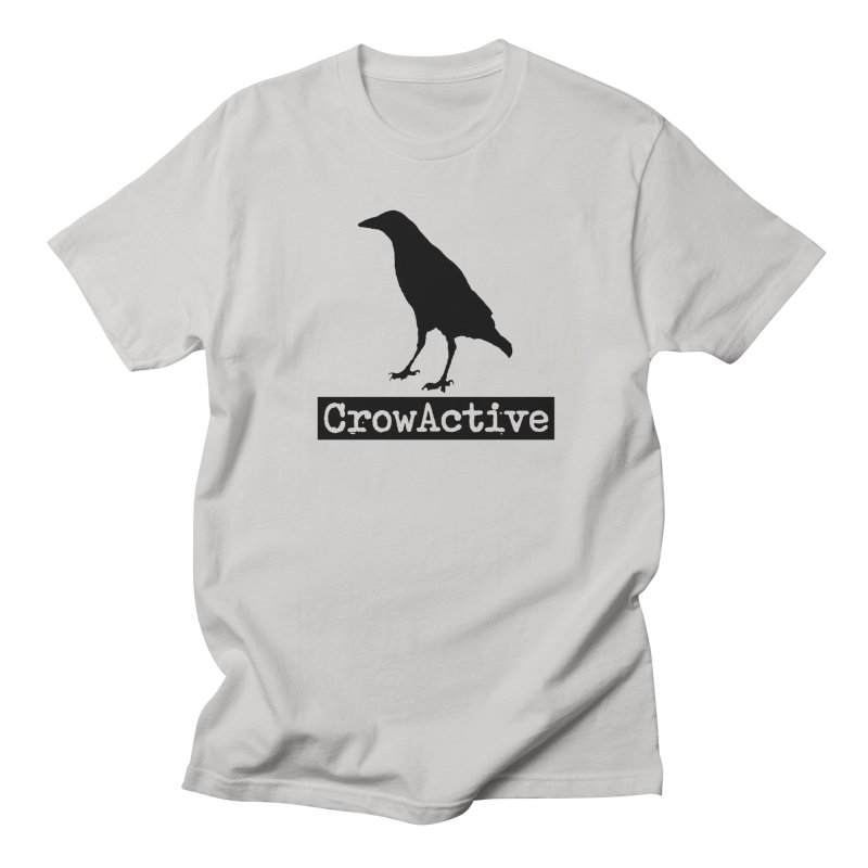 CrowActive Women's Regular Unisex T-Shirt by CrowActive