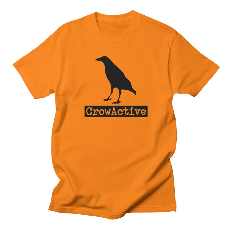 CrowActive Women's Unisex T-Shirt by CrowActive