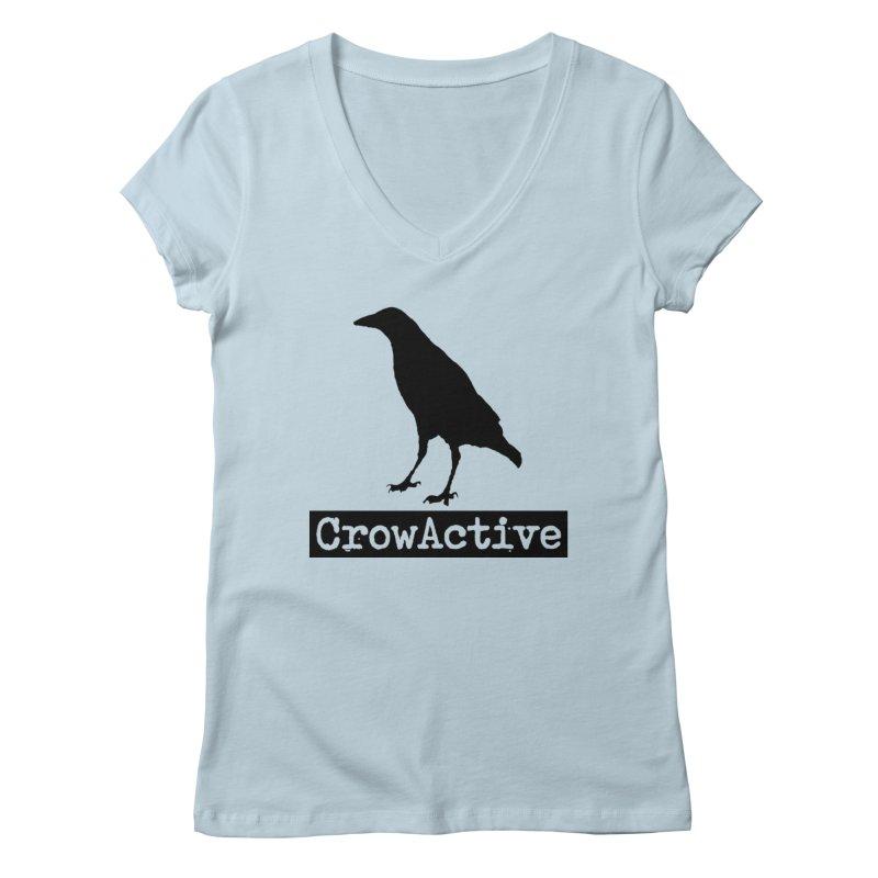 CrowActive Women's V-Neck by CrowActive