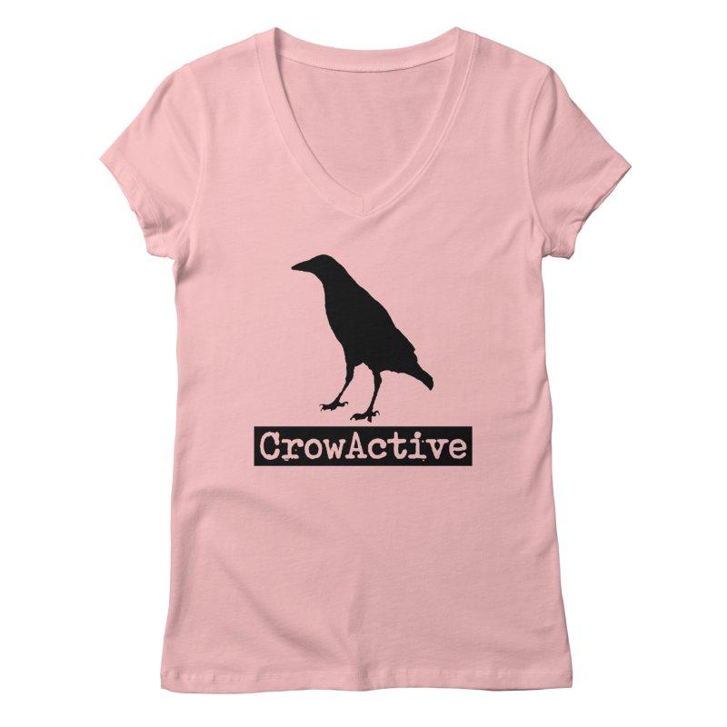 CrowActive Women's Regular V-Neck by CrowActive