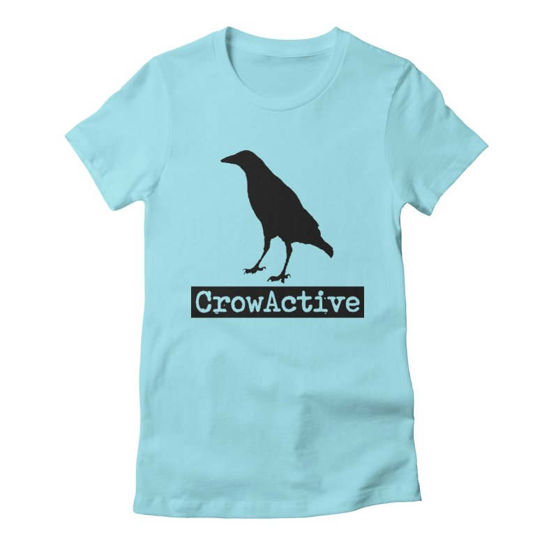 CrowActive Women's Fitted T-Shirt by CrowActive