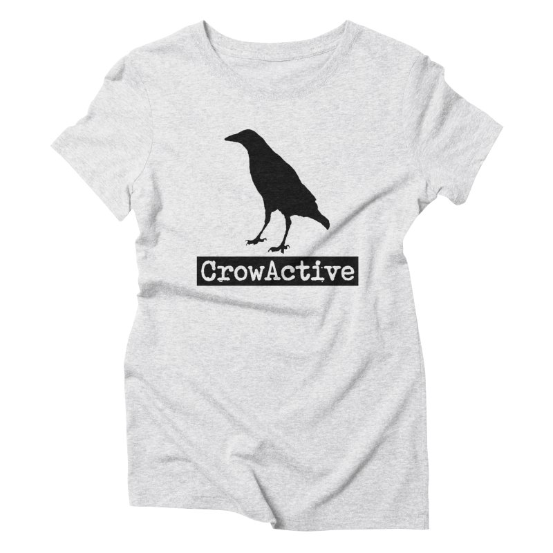 CrowActive Women's Triblend T-Shirt by CrowActive