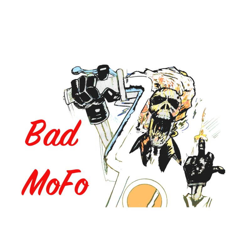 BAD MOFO Accessories Button by crowsong's Artist Shop
