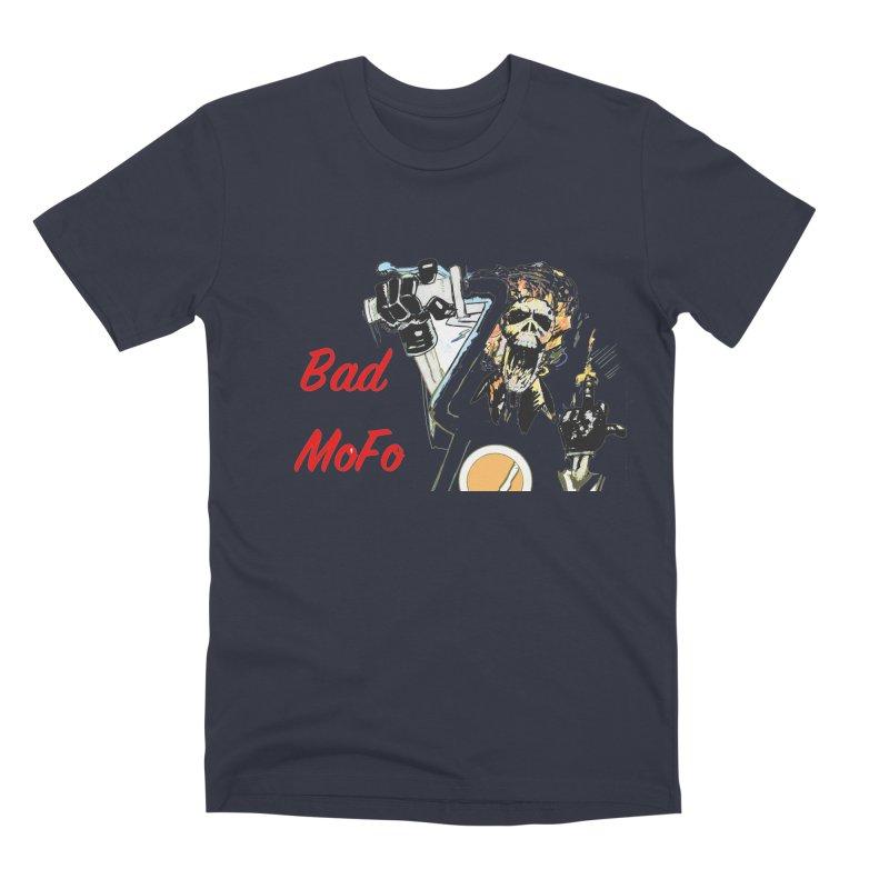 BAD MOFO Men's Premium T-Shirt by crowsong's Artist Shop