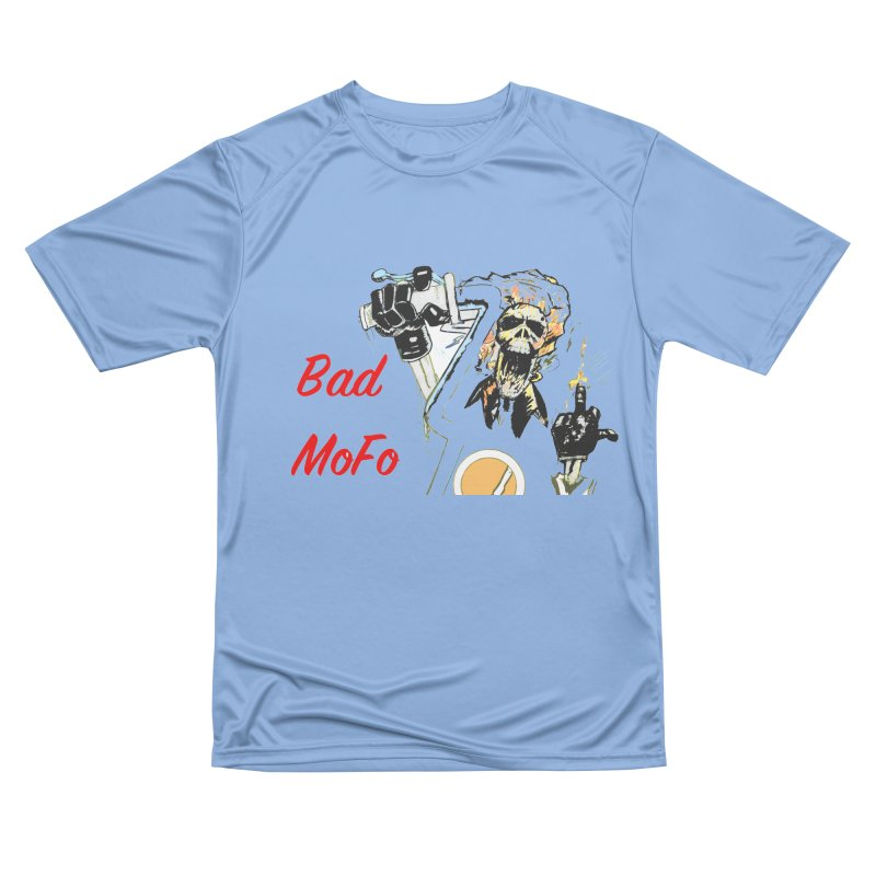 BAD MOFO Men's Performance T-Shirt by crowsong's Artist Shop