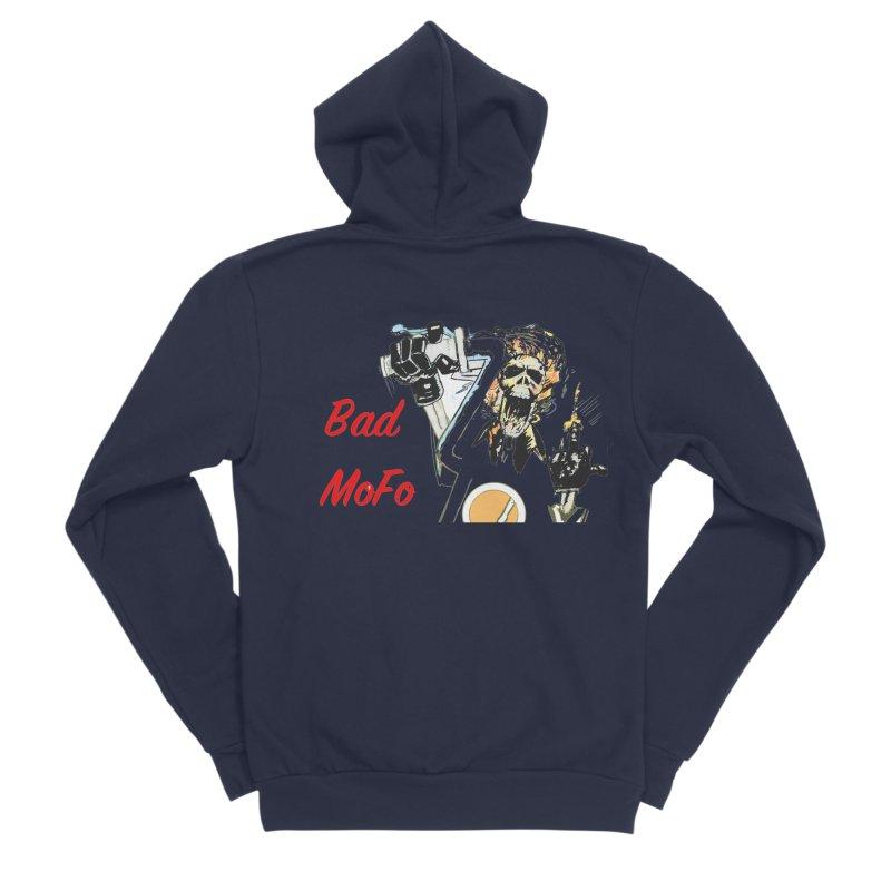 BAD MOFO Men's Sponge Fleece Zip-Up Hoody by crowsong's Artist Shop