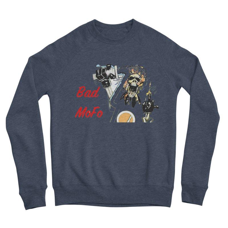 BAD MOFO Men's Sponge Fleece Sweatshirt by crowsong's Artist Shop