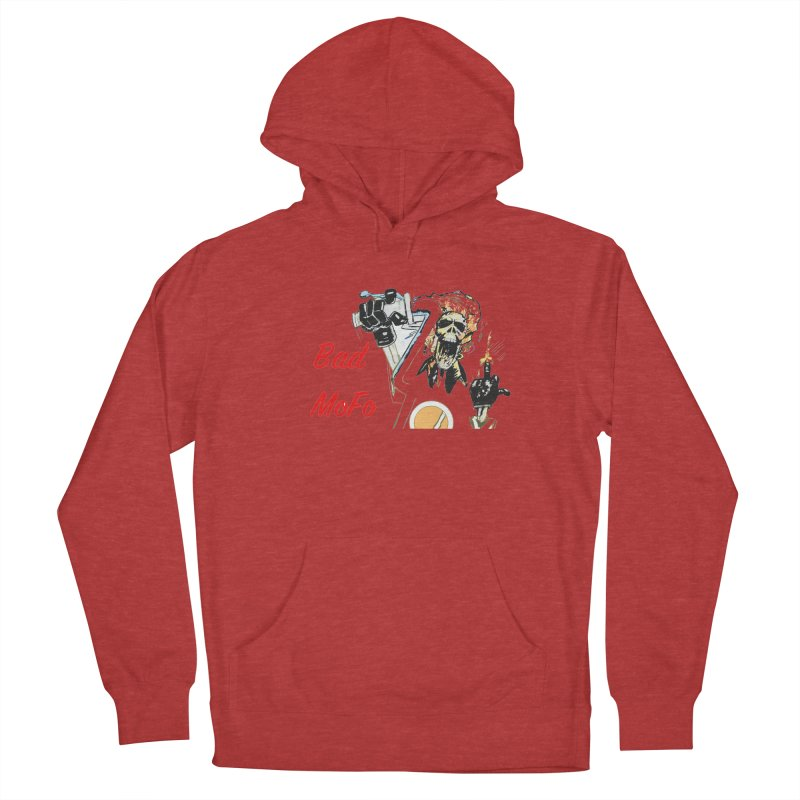 BAD MOFO Men's French Terry Pullover Hoody by crowsong's Artist Shop