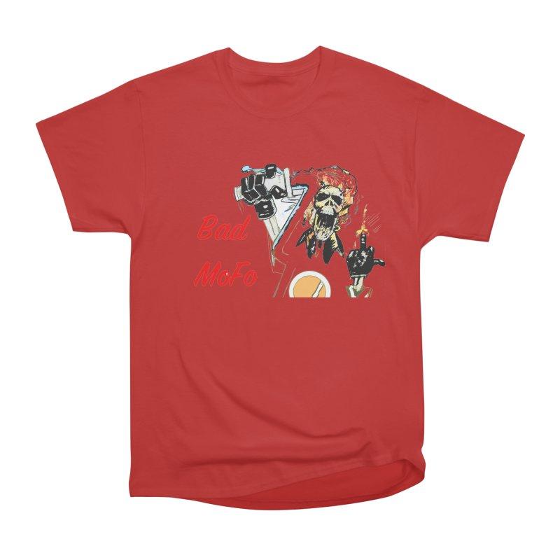 BAD MOFO Women's Heavyweight Unisex T-Shirt by crowsong's Artist Shop