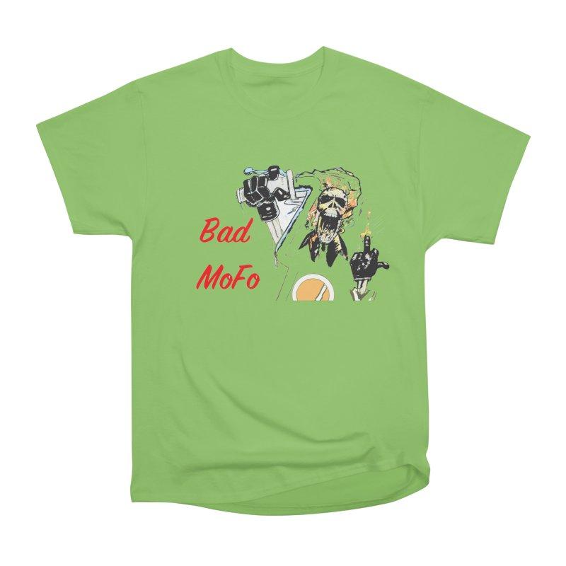 BAD MOFO Men's Heavyweight T-Shirt by crowsong's Artist Shop