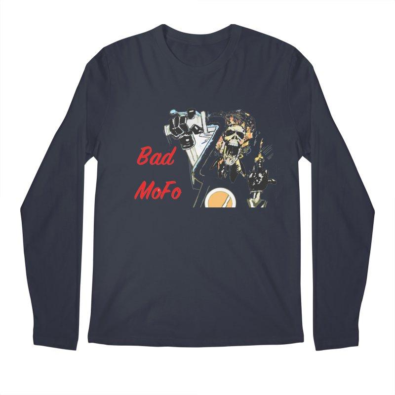 BAD MOFO Men's Longsleeve T-Shirt by crowsong's Artist Shop