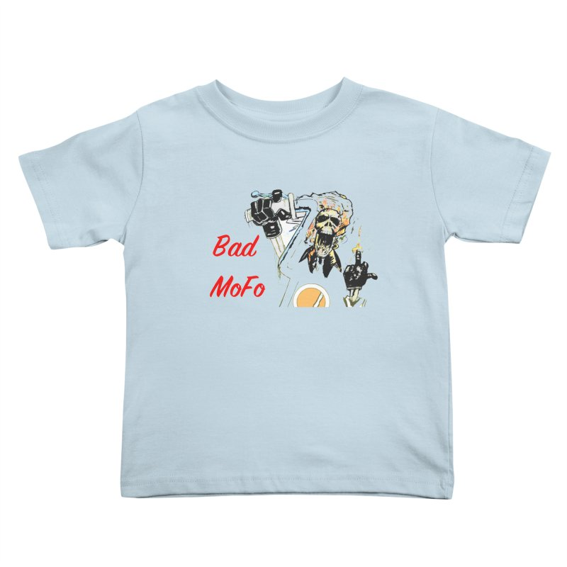 BAD MOFO Kids Toddler T-Shirt by crowsong's Artist Shop