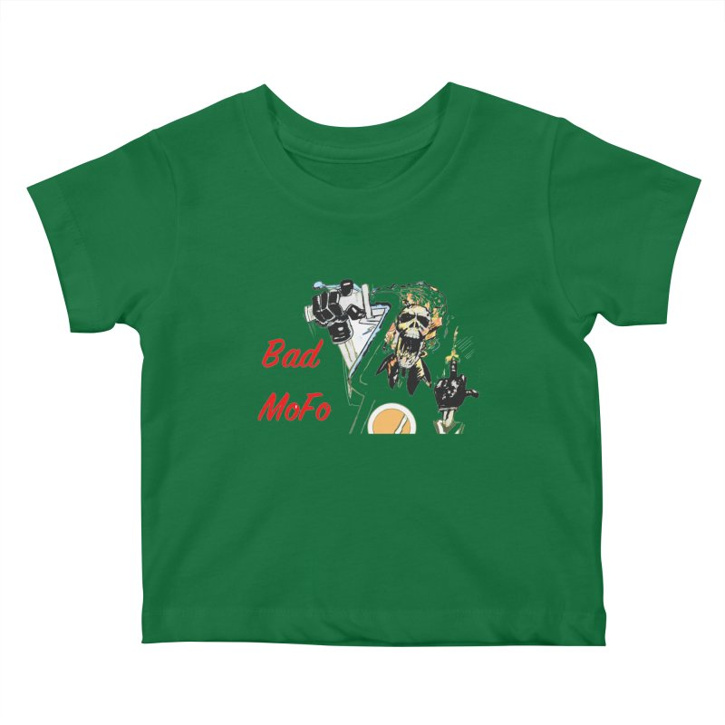 BAD MOFO Kids Baby T-Shirt by crowsong's Artist Shop