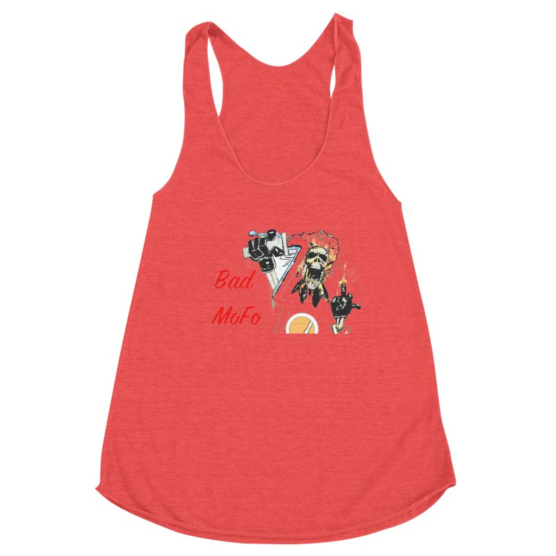 BAD MOFO Women's Tank by crowsong's Artist Shop