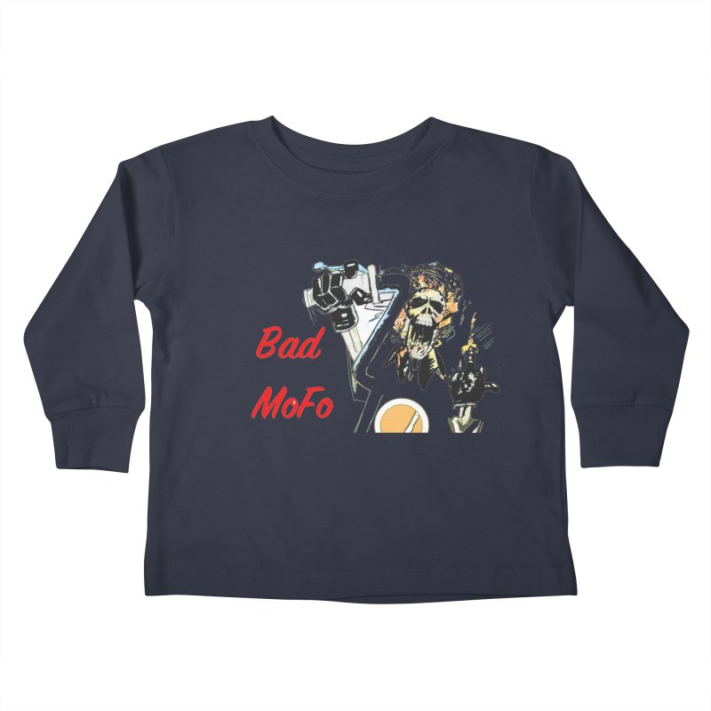 BAD MOFO Kids Toddler Longsleeve T-Shirt by crowsong's Artist Shop