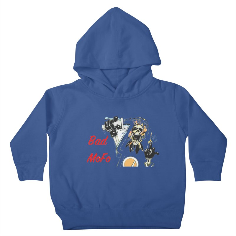 BAD MOFO Kids Toddler Pullover Hoody by crowsong's Artist Shop