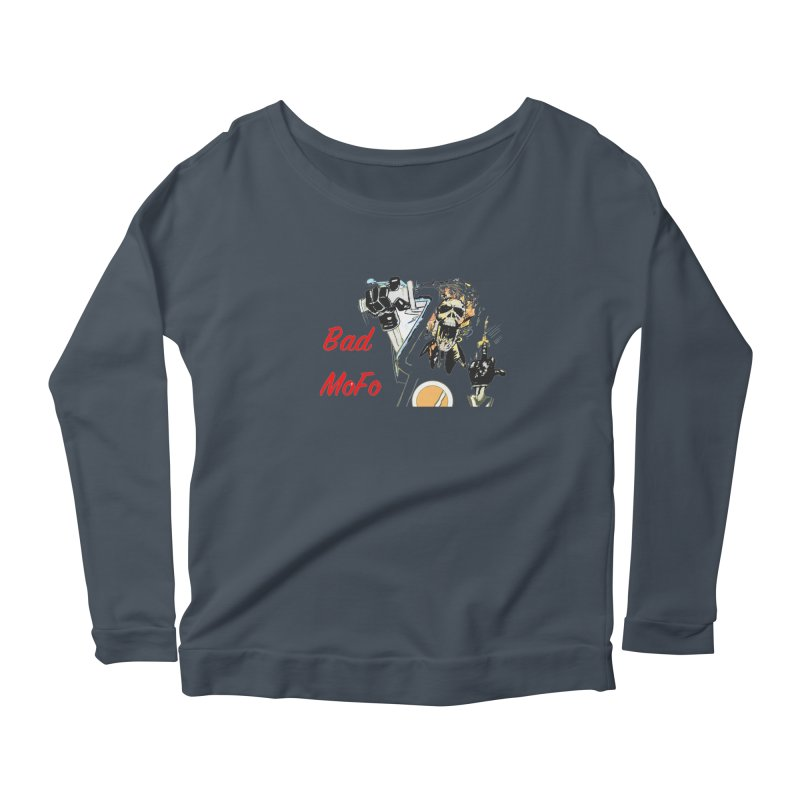 BAD MOFO Women's Longsleeve T-Shirt by crowsong's Artist Shop
