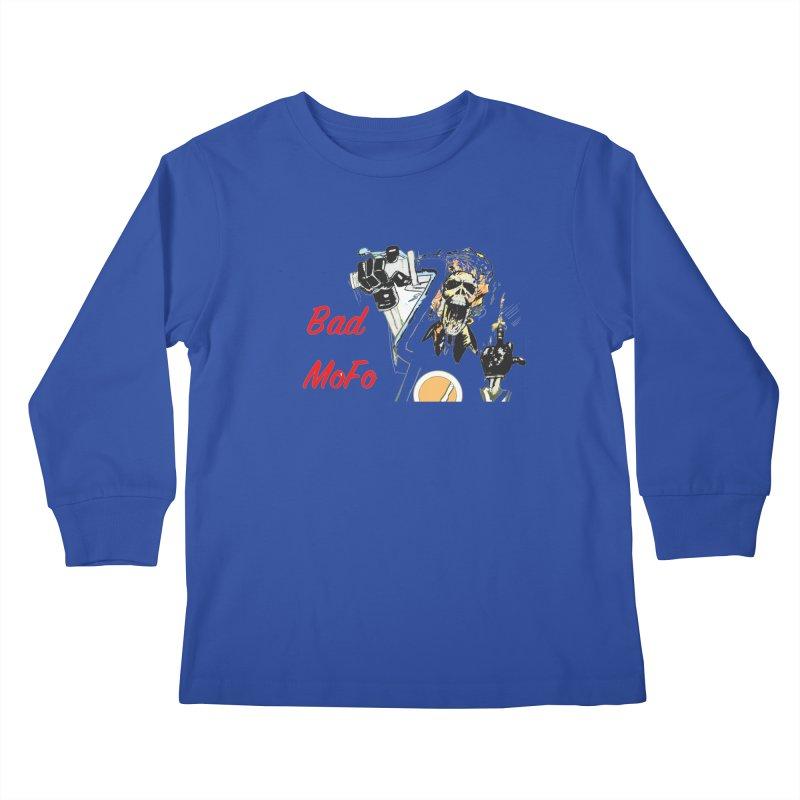 BAD MOFO Kids Longsleeve T-Shirt by crowsong's Artist Shop