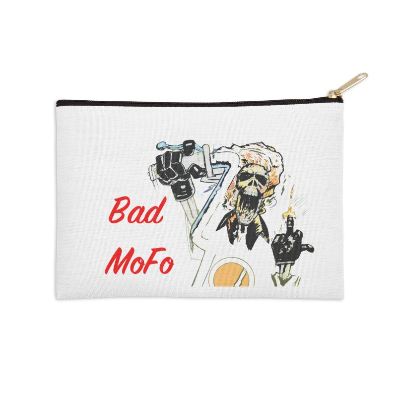BAD MOFO Accessories Zip Pouch by crowsong's Artist Shop