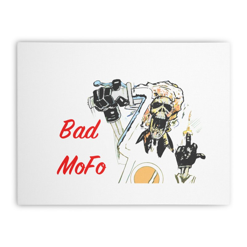 BAD MOFO Home Stretched Canvas by crowsong's Artist Shop