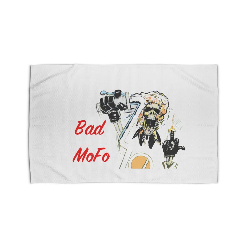 BAD MOFO Home Rug by crowsong's Artist Shop