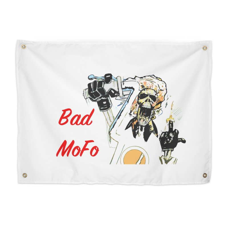 BAD MOFO Home Tapestry by crowsong's Artist Shop
