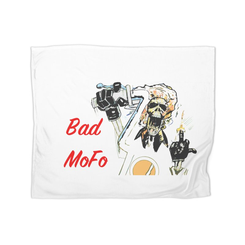 BAD MOFO Home Fleece Blanket Blanket by crowsong's Artist Shop