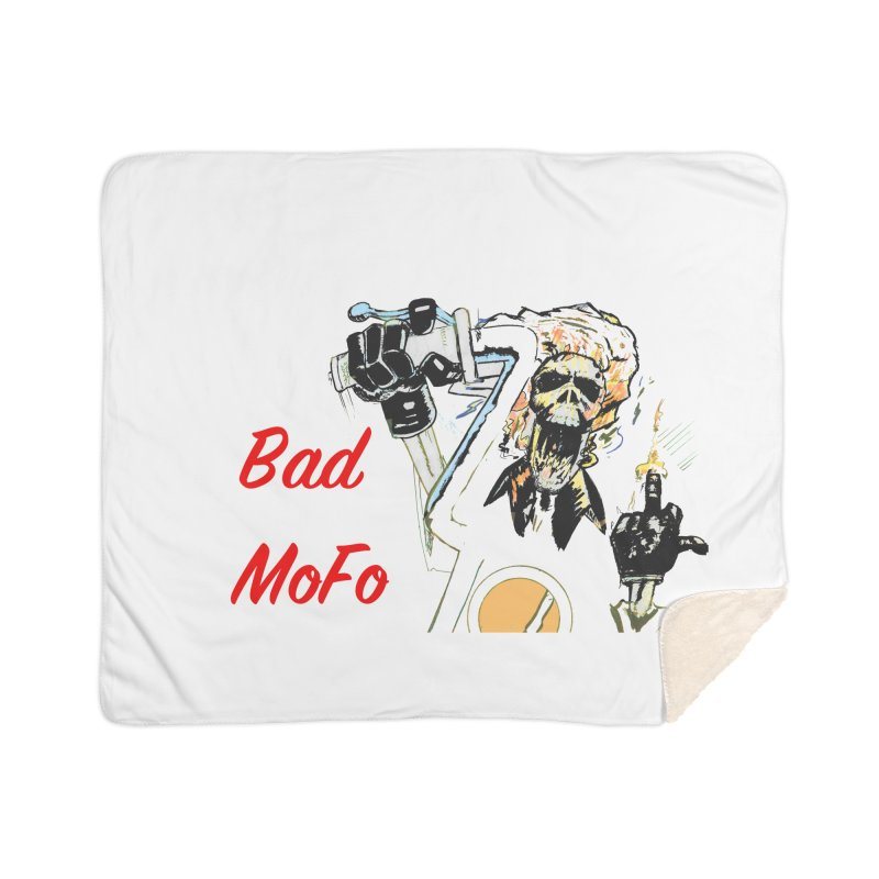 BAD MOFO Home Sherpa Blanket Blanket by crowsong's Artist Shop