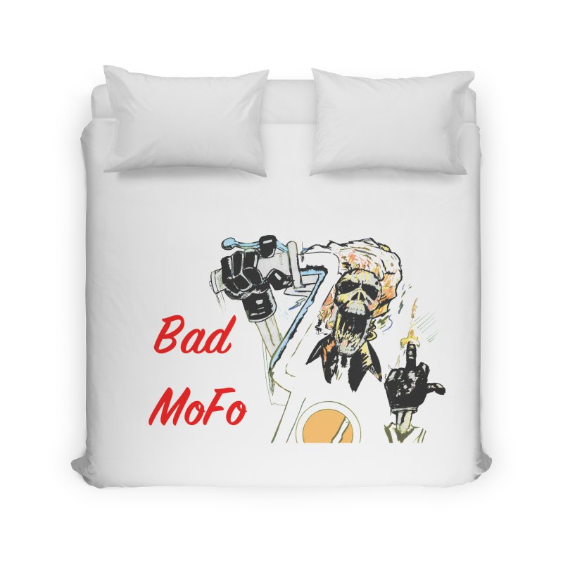 BAD MOFO Home Duvet by crowsong's Artist Shop