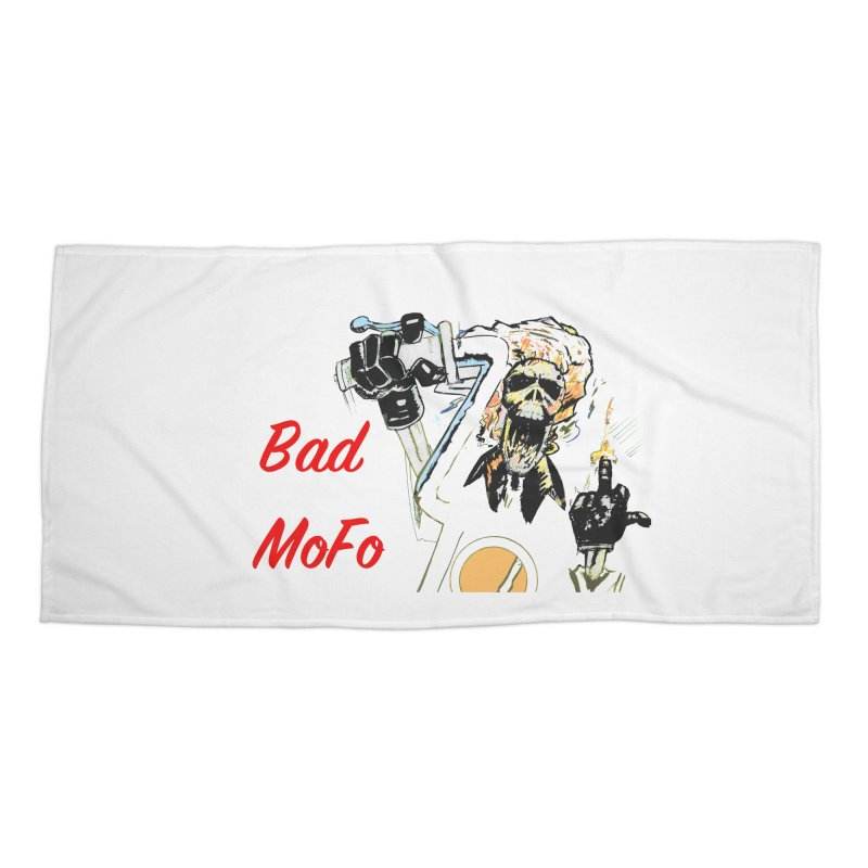 BAD MOFO Accessories Beach Towel by crowsong's Artist Shop