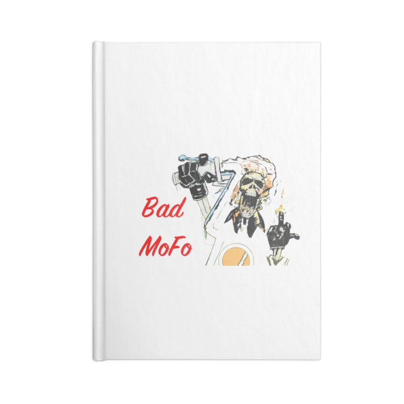 BAD MOFO Accessories Blank Journal Notebook by crowsong's Artist Shop