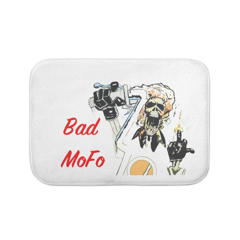 BAD MOFO Home Bath Mat by crowsong's Artist Shop