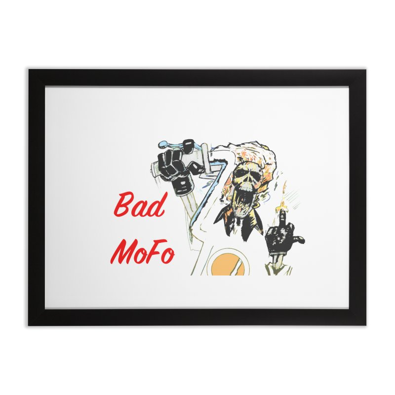 BAD MOFO Home Framed Fine Art Print by crowsong's Artist Shop