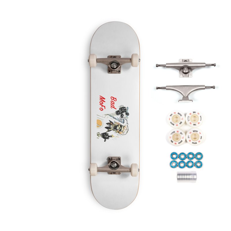 BAD MOFO Accessories Complete - Premium Skateboard by crowsong's Artist Shop