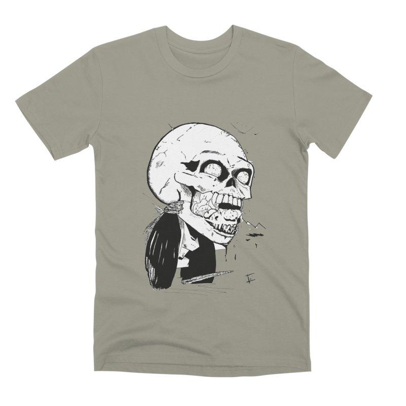 Speak No More Men's Premium T-Shirt by crowsong's Artist Shop