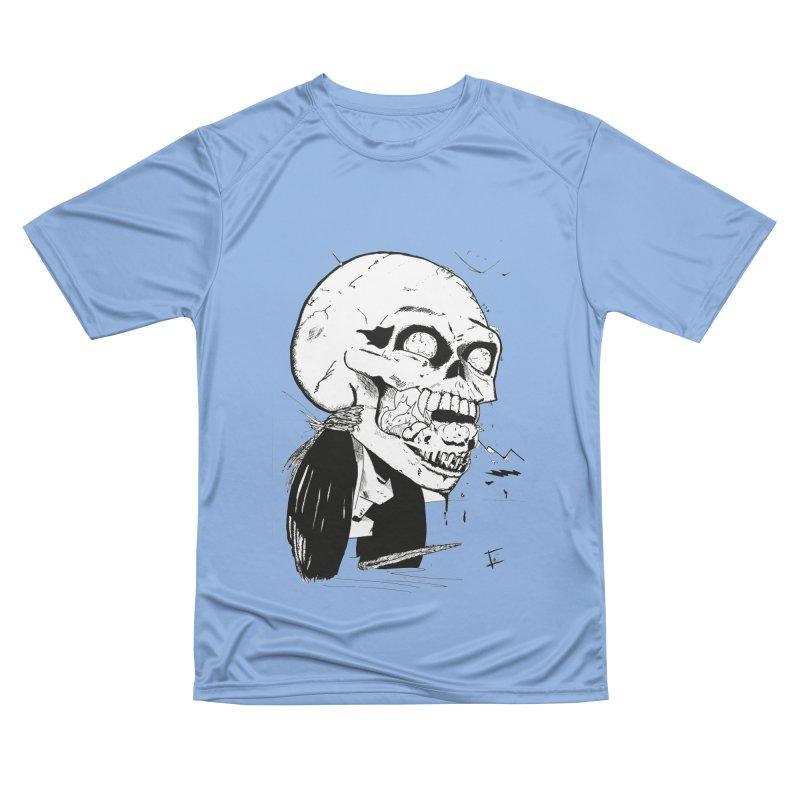 Speak No More Men's Performance T-Shirt by crowsong's Artist Shop