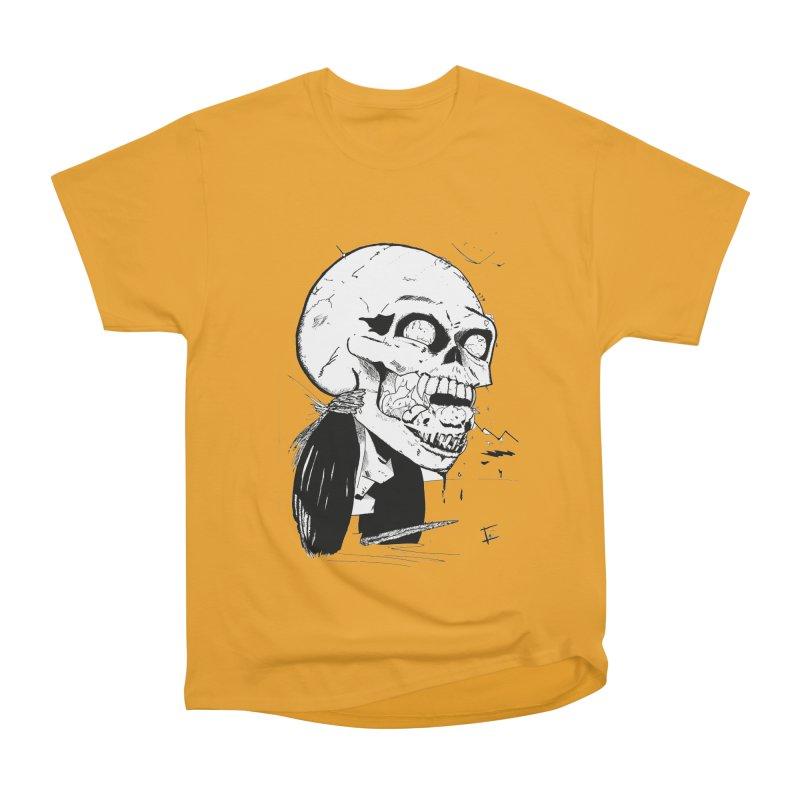 Speak No More Men's Heavyweight T-Shirt by crowsong's Artist Shop