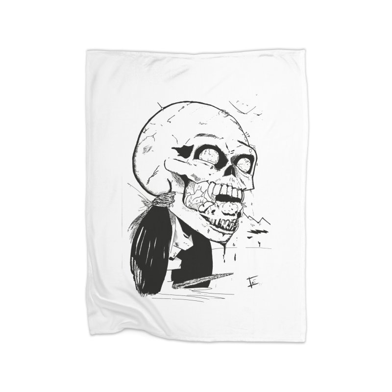 Speak No More Home Blanket by crowsong's Artist Shop